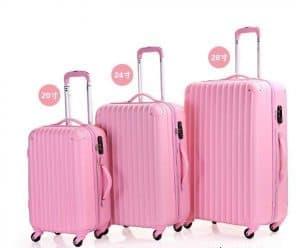 3 kích thước chính của vali kéo