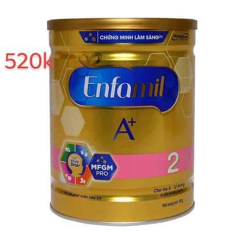 sữa Enfamil A+ cho bé từ 0-6 tháng tuổi