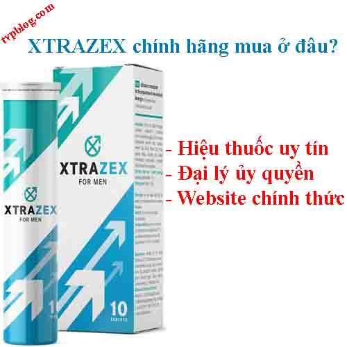 Xtrazex chính hãng mua ở đâu