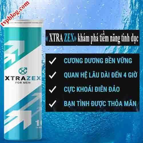 công dụng của viên sủi xtrazex formen