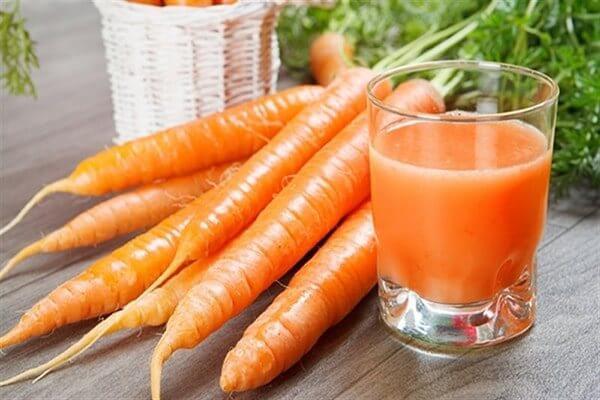Ăn cà rốt giúp chống xuất tinh sớm