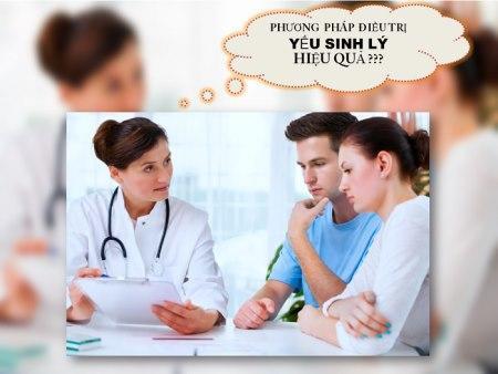 Yếu sinh lý uống thuốc gì