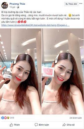 Hot girl Phương Thảo Review kem 22 again