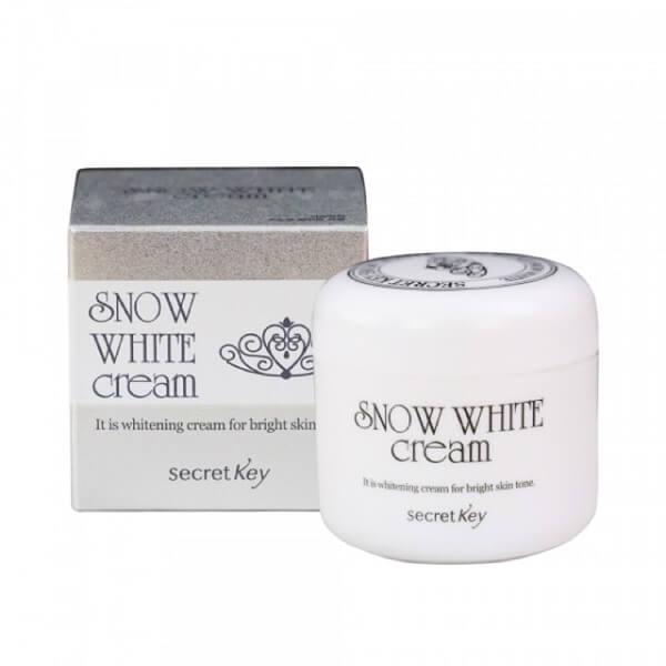 Kem Dưỡng Trắng Da Mặt Secret Key Snow White Cream Face