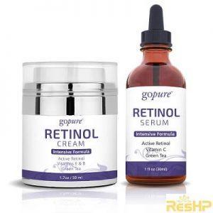 Retinol giúp chống lão hóa da