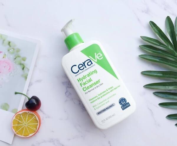 Sữa rửa mặt da khô CeraVe Hydrating Facial Cleanser