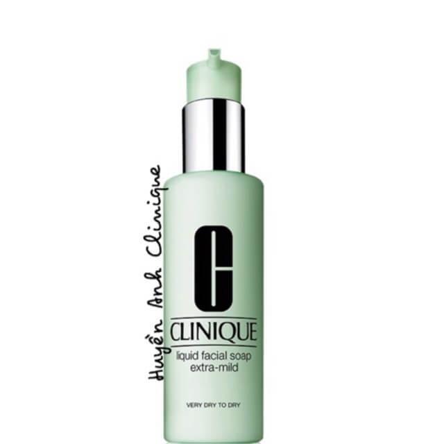 Sữa rửa mặt dành cho da khô Clinique Liquid Facial Soap Mild