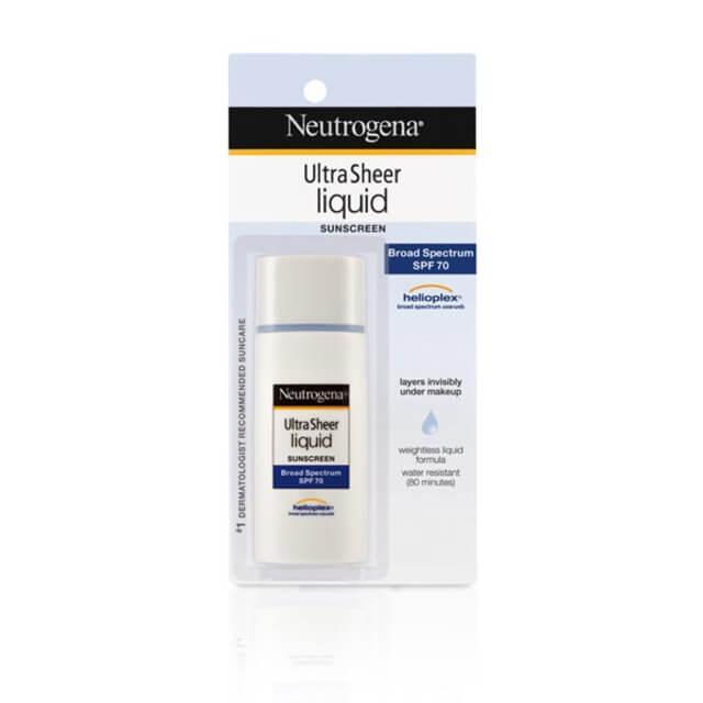 Kem chống nắng cho da nhạy cảm Neutrogena Ultra Sheer Liquid Sunblock