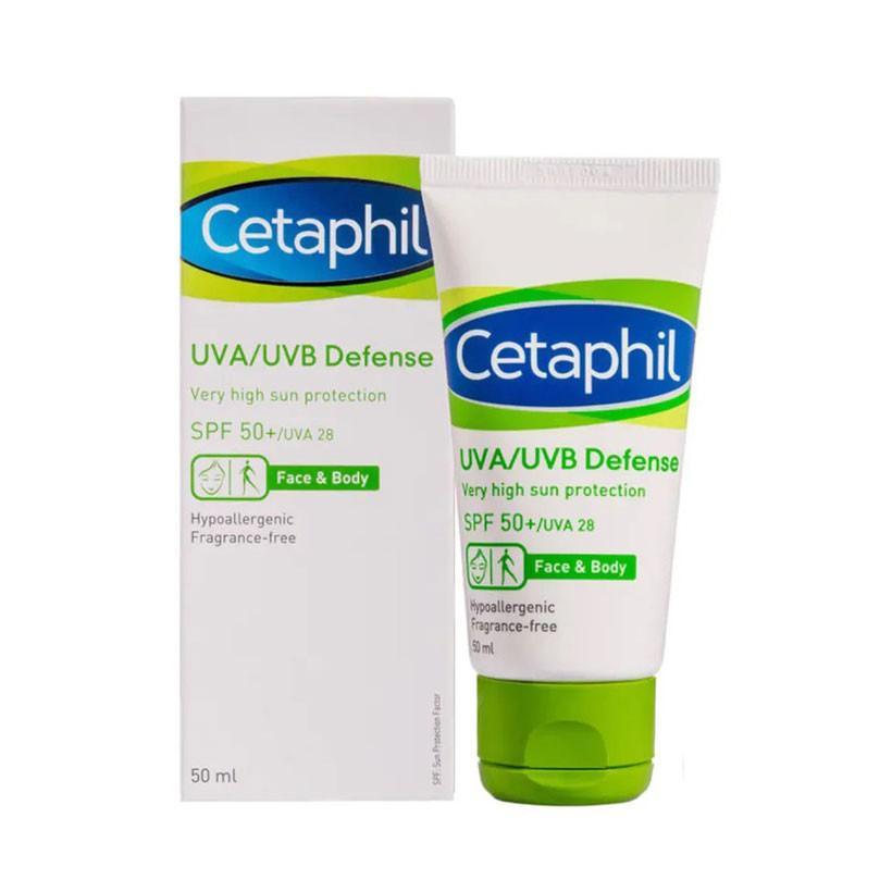 Kem chống nắng cho da hỗn hợp CETAPHIL DEFENSE VERY HIGH SUN PROTECTION SPF50+/UVA28