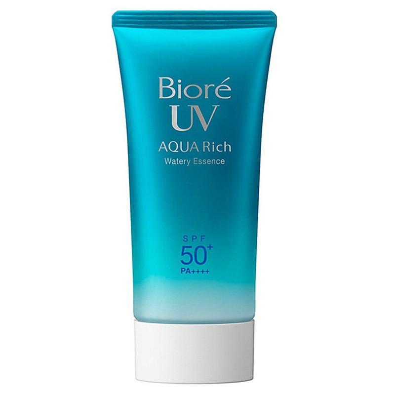 Kem Chống Nắng cho da khô Biore UV Aqua Rich Watery Essence SPF50+ PA++++