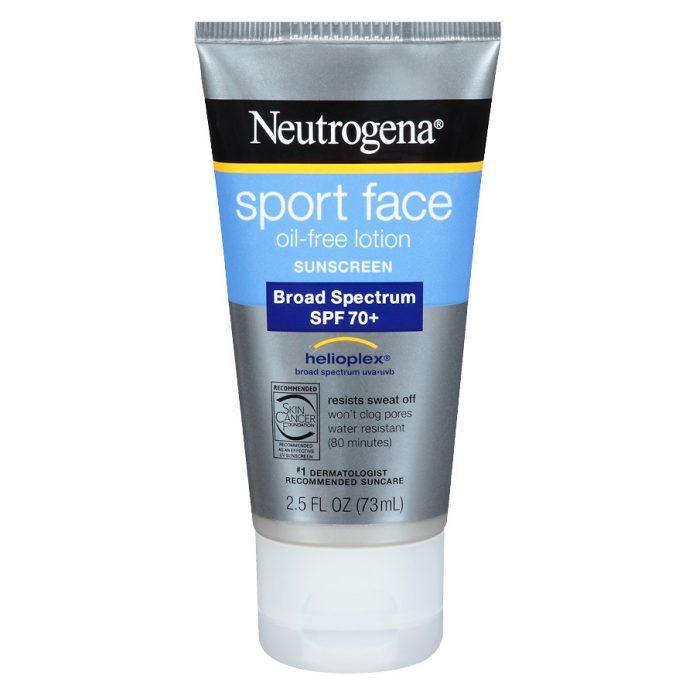 Kem chống nắng cho nam giới Neutrogena Sport Face-Oil