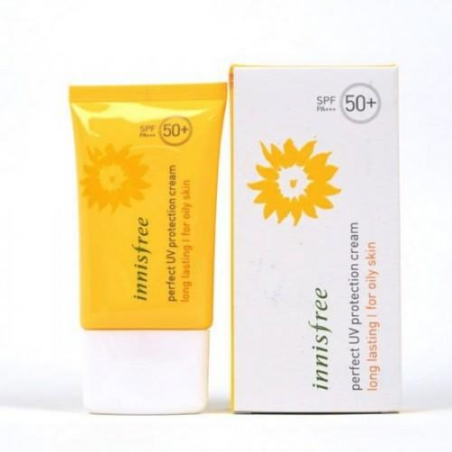 Kem Chống Nắng Innisfree Perfect Uv Protection Cream Long Lasting For Oily Skin SPF 50 PA+++