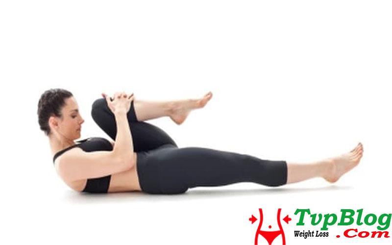 bài tập yoga giảm cân tư thế xả hơi