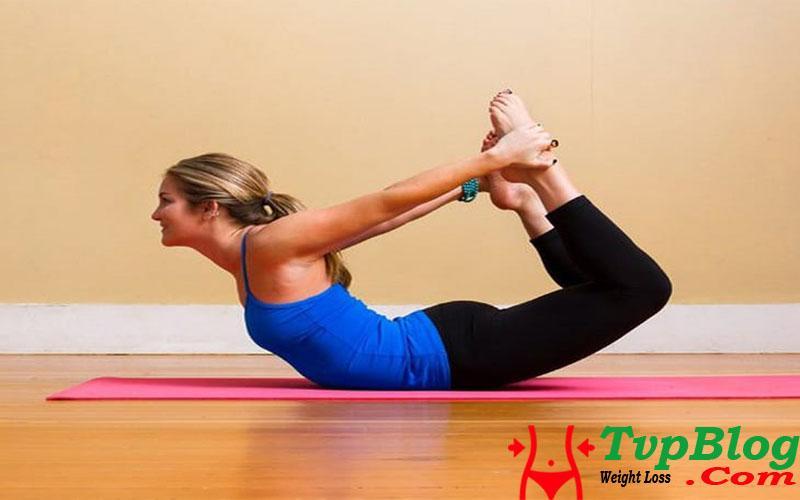 Bài tập yoga giảm cân nhanh nhất - tư thế cánh cung