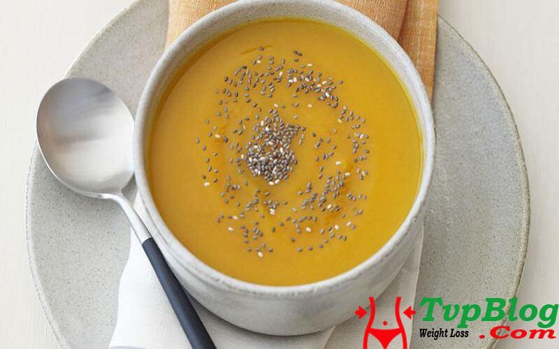 Canh soup hạt chia giảm cân