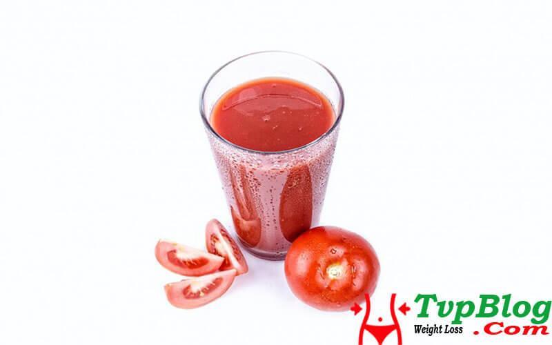 Cách giảm cân bằng nước ép cà chua